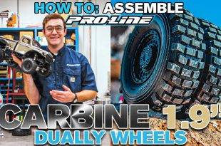 """HOW TO Assemble Pro-Line Carbine 1.9"""" Bead-Loc Dually Wheels"""