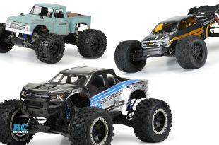 Pro-Line Monster Truck body Offerings