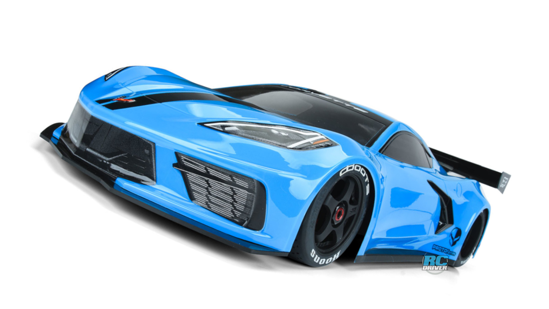 PROTOform 1/7-scale Chevrolet Corvette C8 Clear Body
