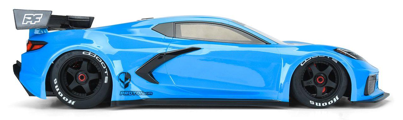 PROTOform 1/7-scale Chevrolet Corvette C8 Clear Body