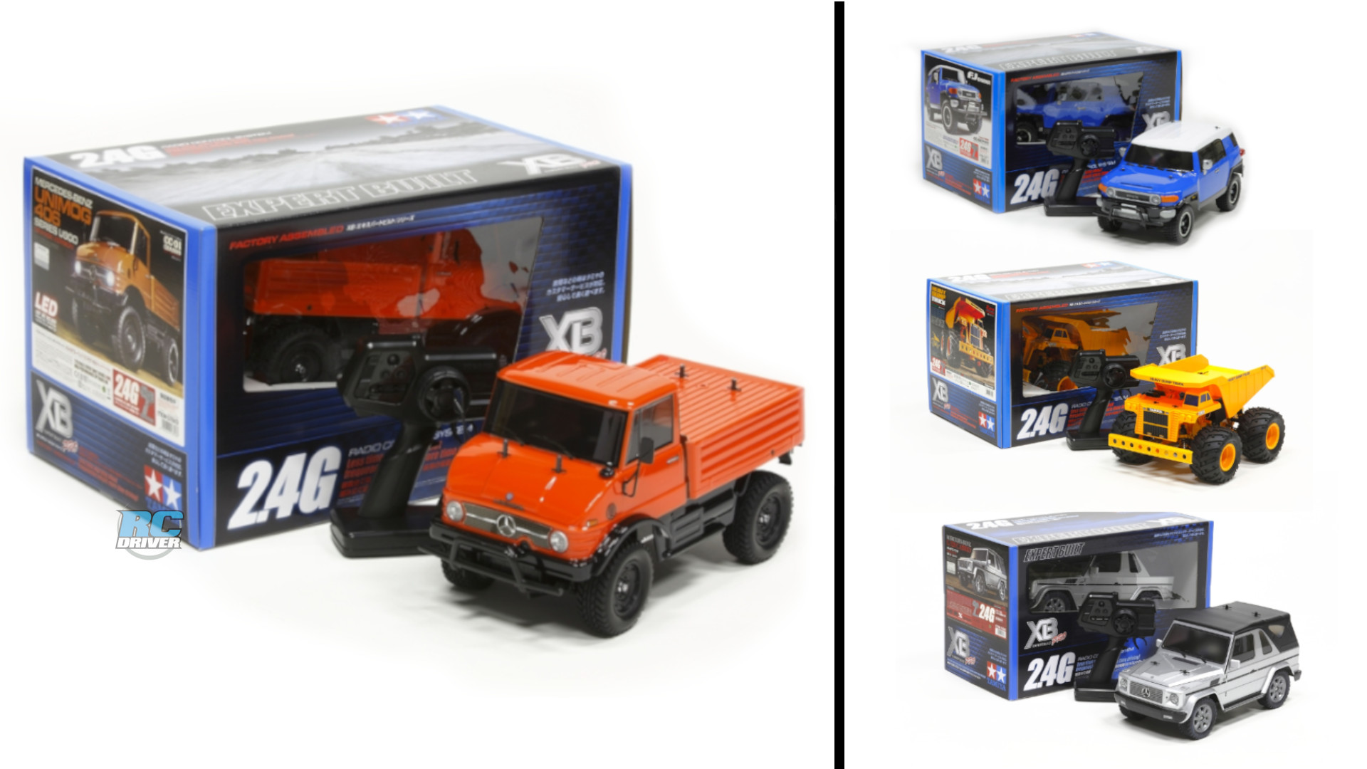 10 Fun Off-Road RTR Trucks from Tamiya