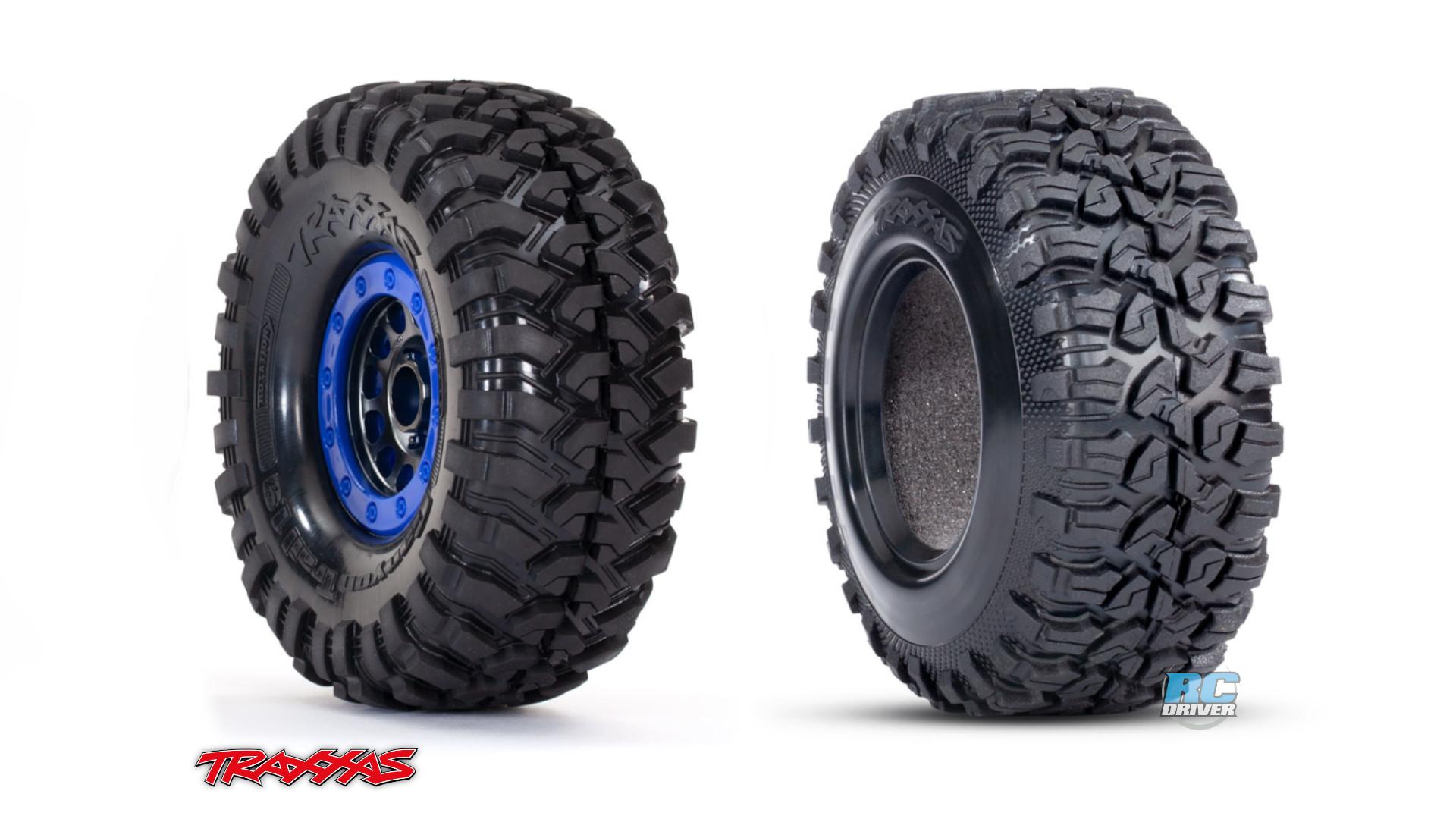 Traxxas Method Mounted Wheels & Canyon Tires For TRX-4