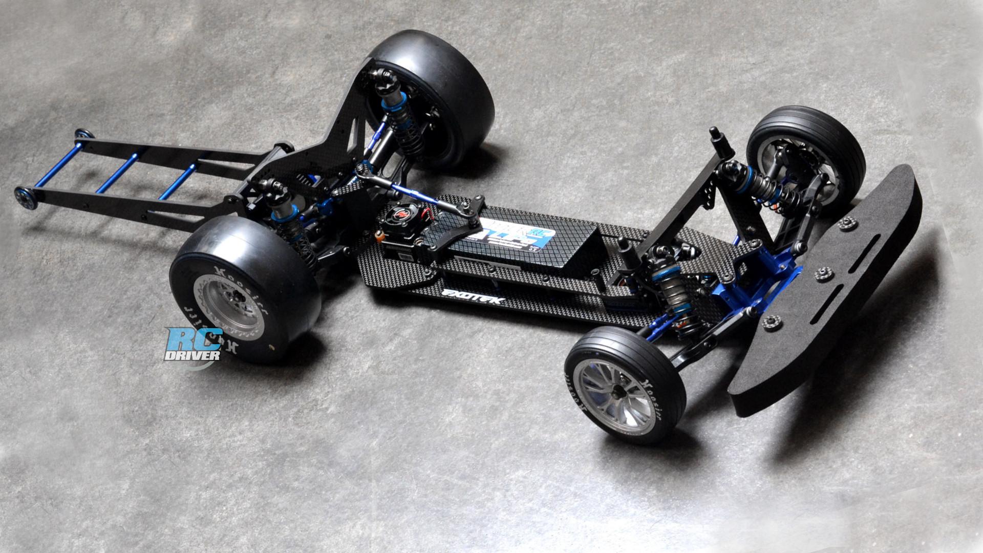 Exotek TX Vader Drag Chassis Conversion