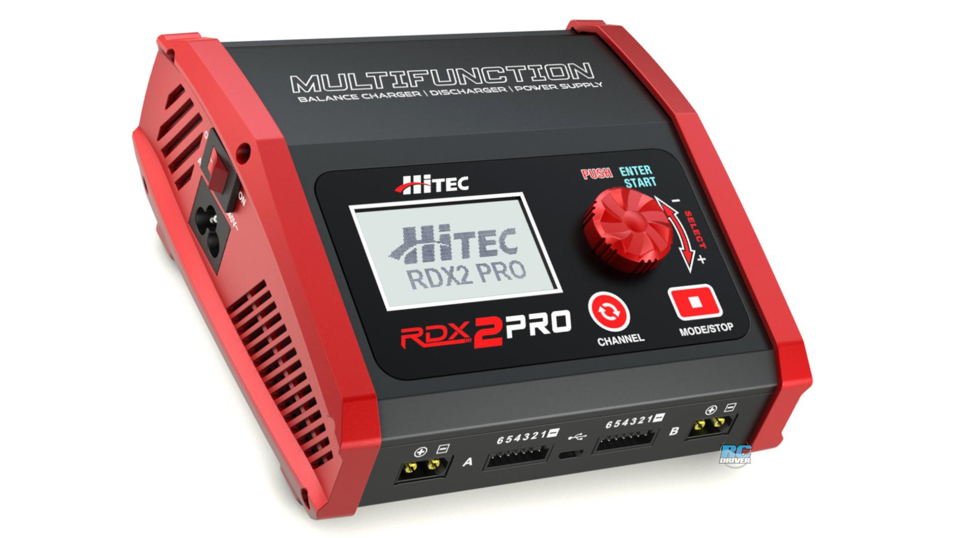 Hitec RDX2 Pro High-Power Dual Port Charger