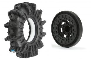 Pro-Line Interco Black Mamba Tires & Vice CrushLock Wheels