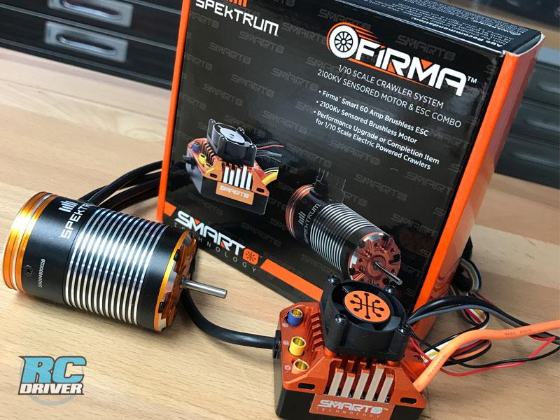 Spektrum SMART / Telemetry Sensored Brushless System