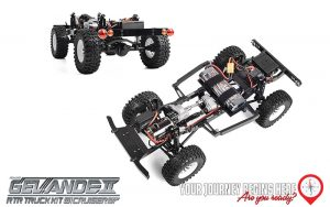 RC4WD New Gelande II Cruiser In Red