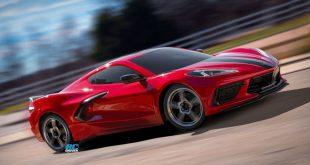 Traxxas 4-Tec 3.0 Chassis With Corvette Stingray Body