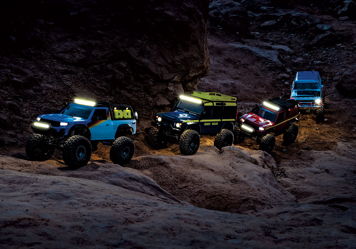 Traxxas Pro Scale Winch & Pro Scale Lighting System