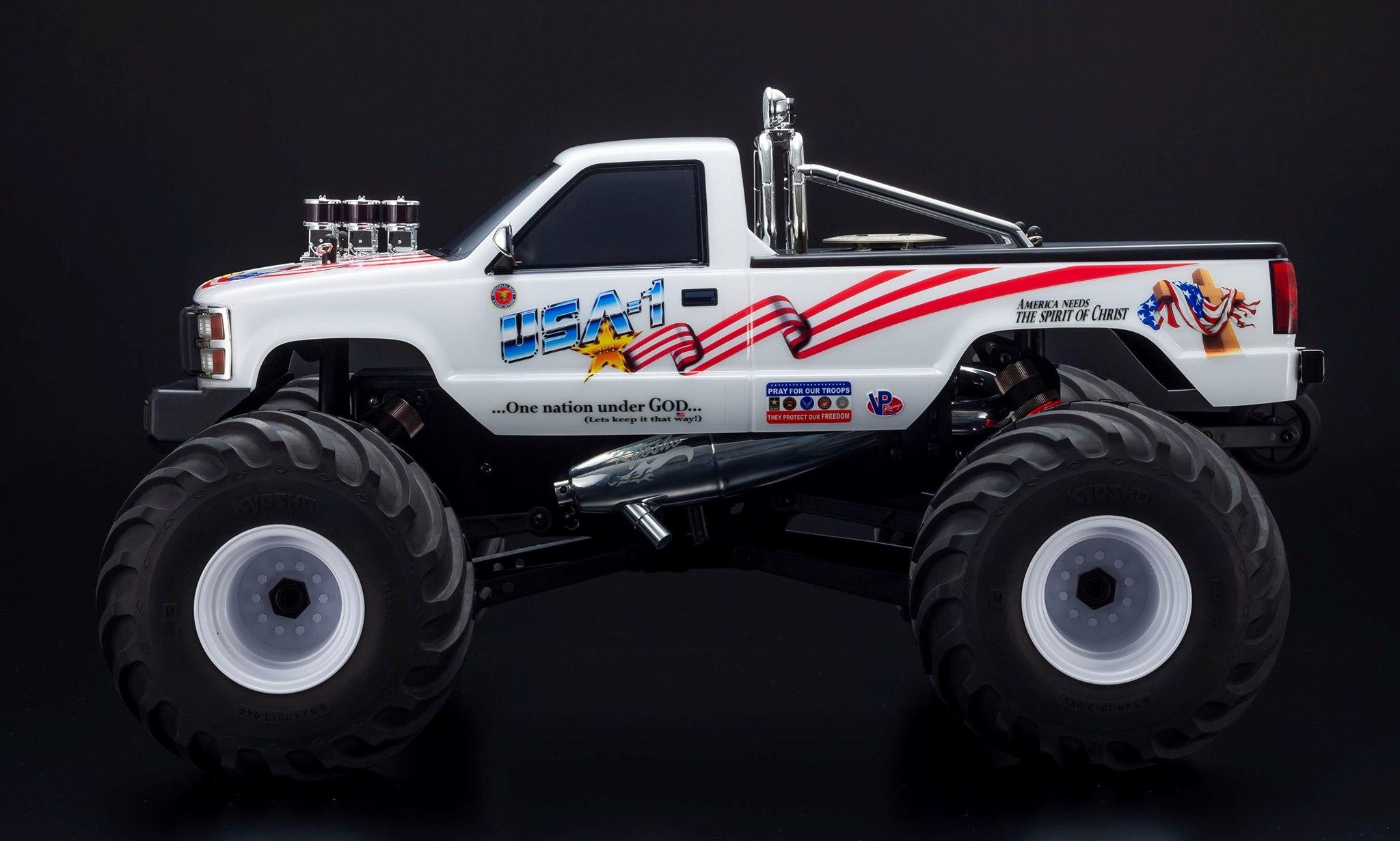 Kyosho USA-1 Monster Truck Returns