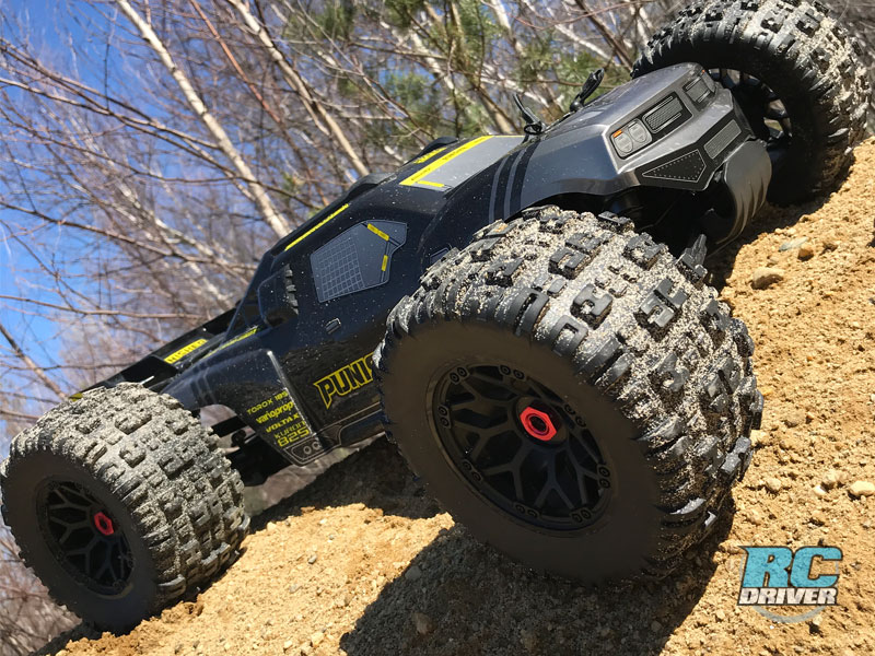 Team Corally Punisher Brushless 4wd Monster Truck Review