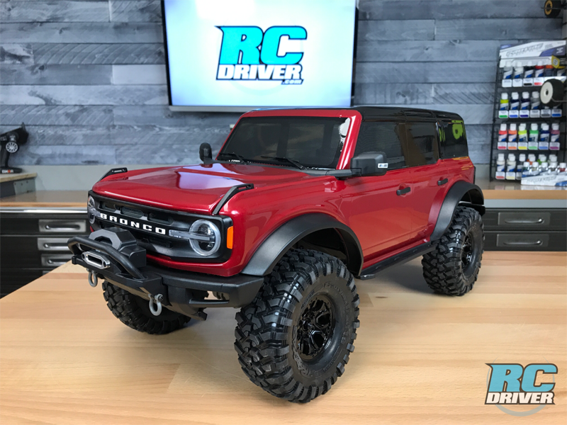 Traxxas TRX-4 2021 Ford Bronco First Look