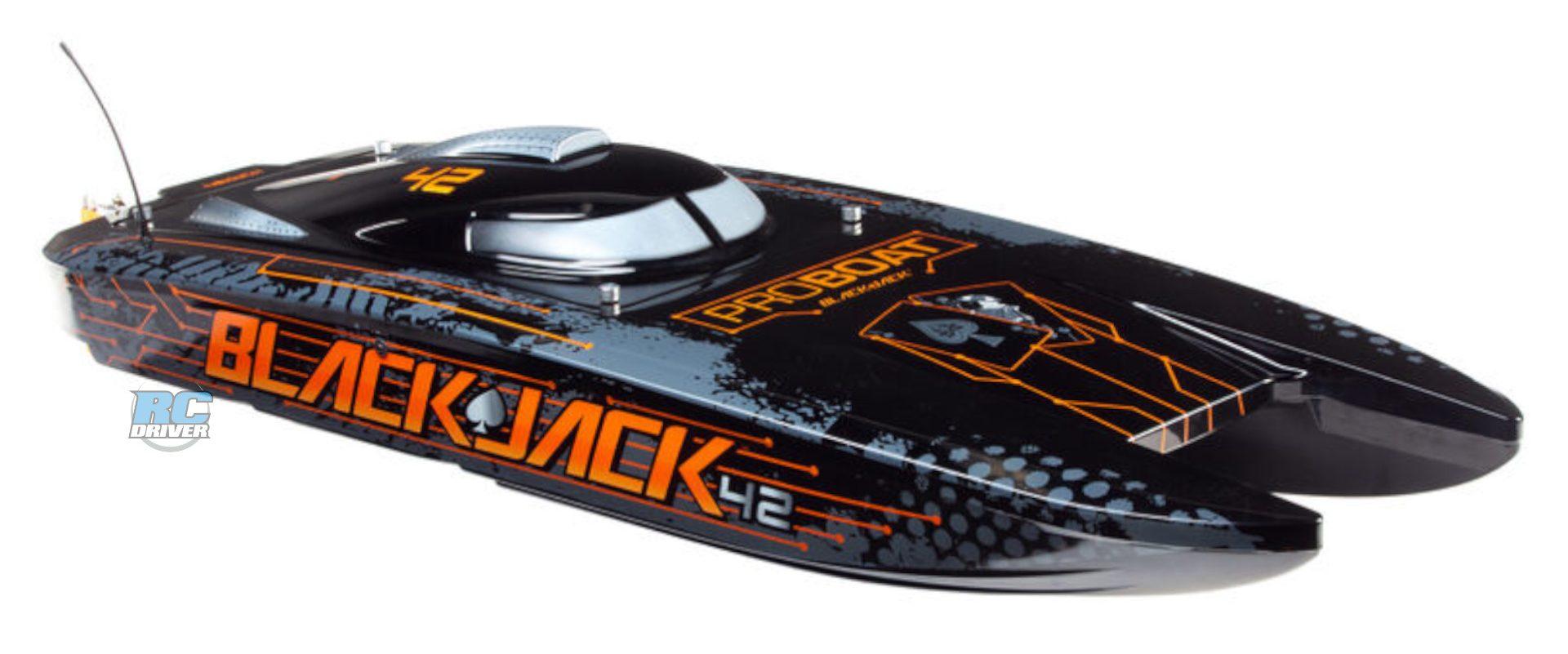 "Pro Boat Blackjack 42"" 8S Brushless Catamaran Ready-To-Run"