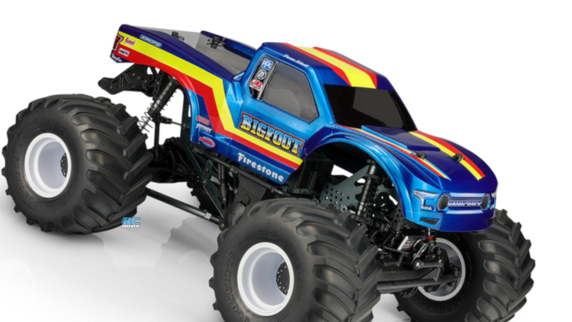 JConcepts 2020 Ford Raptor With Bigfoot 19 Racer Stripe