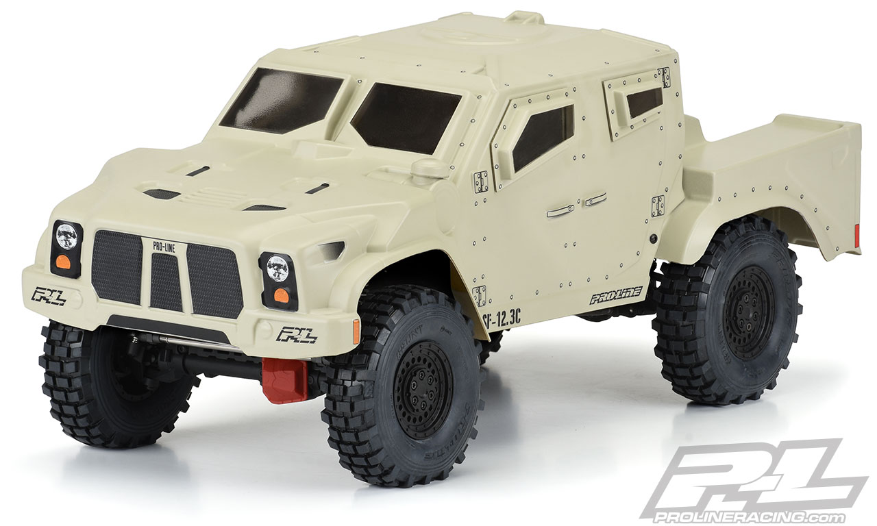Pro-Line Strikeforce Clear 1/10 Crawler Body