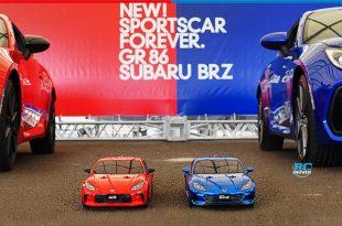 Tamiya Toyota GR86 & Subaru BRZ Touring Cars Teased
