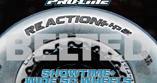 Pro-Line Reaction+ HP Wide SC BELTED Tires and Showtime+ Wide SC Wheels