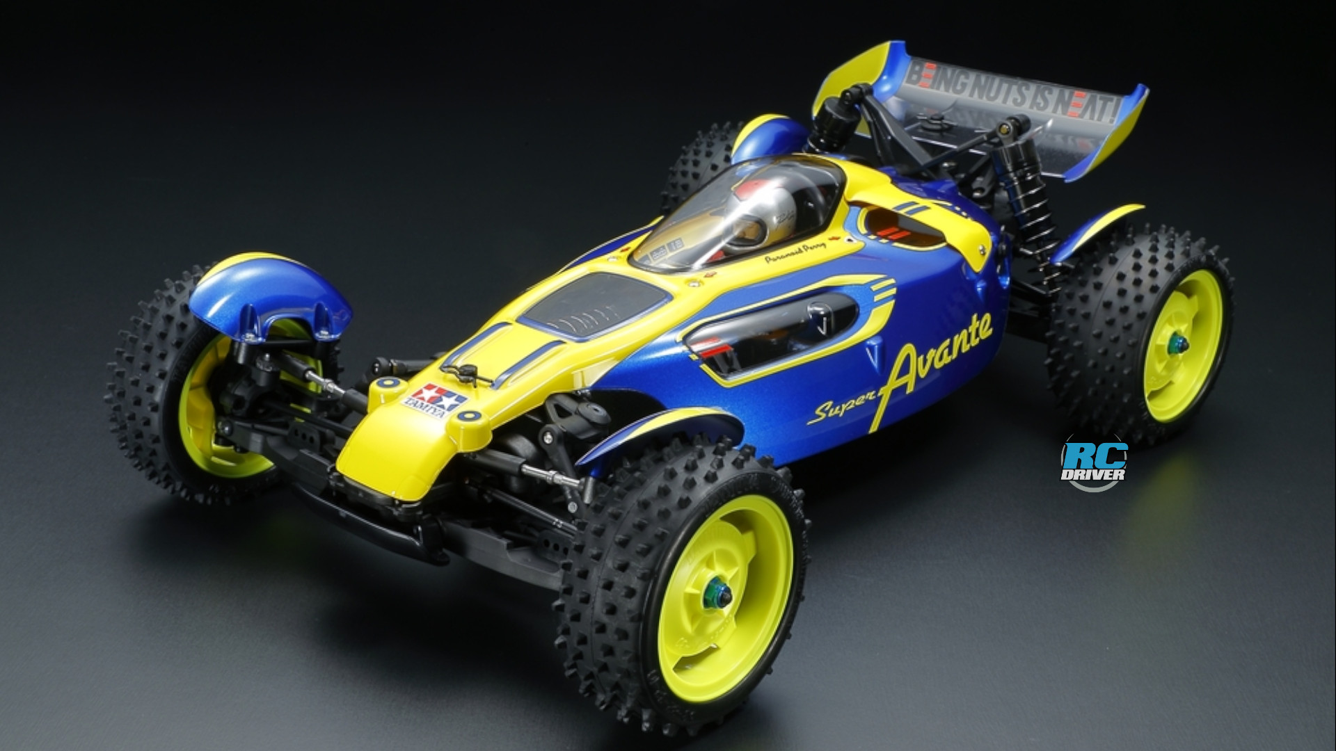 Tamiya Super Avante On The All-New TD4 Chassis