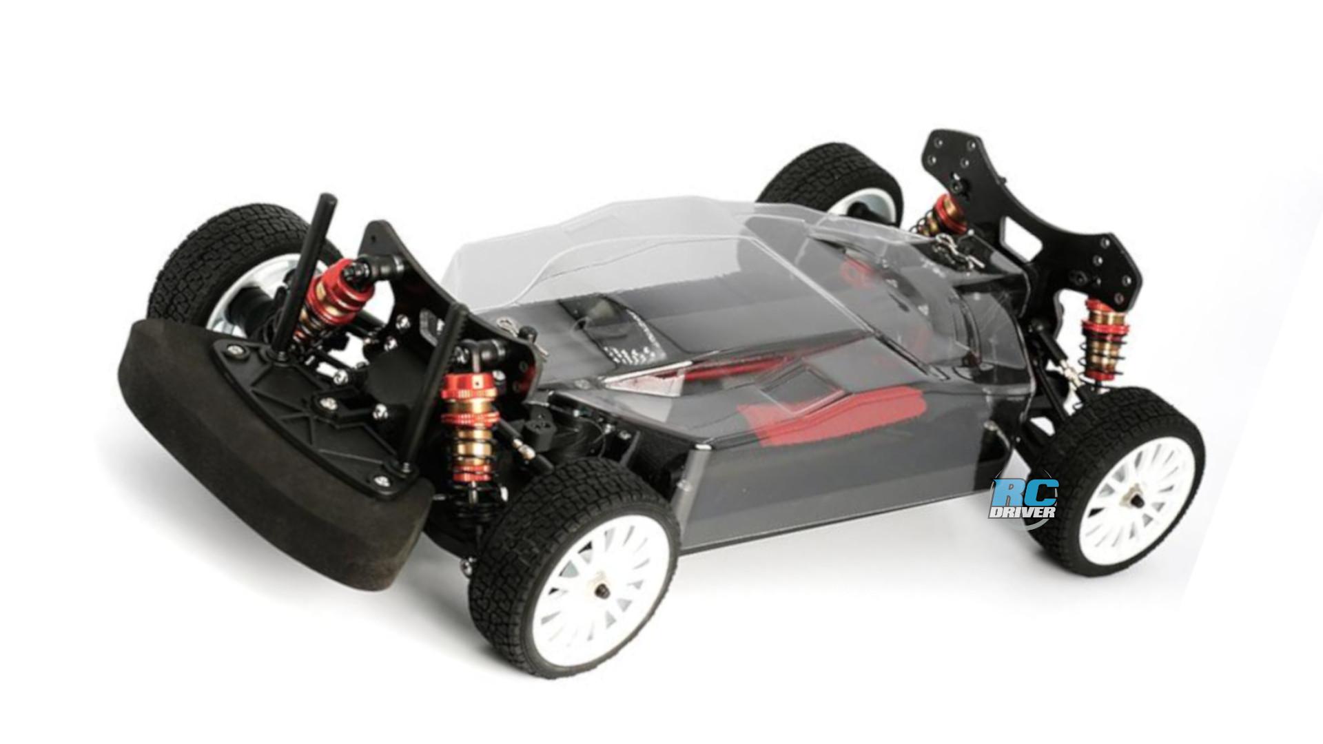 LC Racing PTG-2 1/10 4WD Rally Car