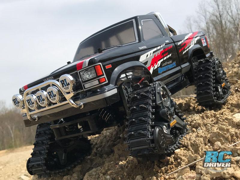 Tamiya Landfreeder QuadTrack RC Car Review