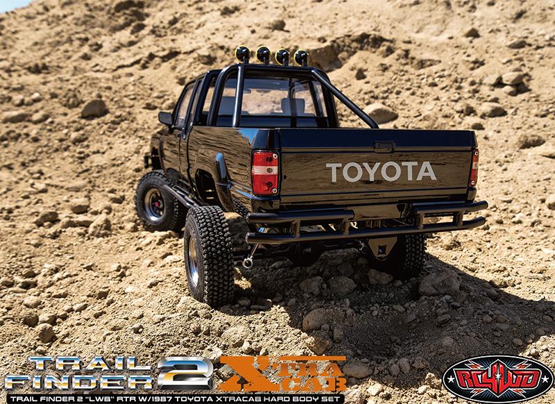 "RC4WD Trail Finder 2 ""LWB"" 1987 Toyota ExtraCab 1987 Toyota ExtraCab"