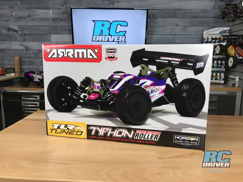 Arrma TLR Tuned Typhon Race Roller Buggy First Look