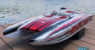 "Pro Boat Blackjack 42"" 8S Brushless Catamaran RTR Review"