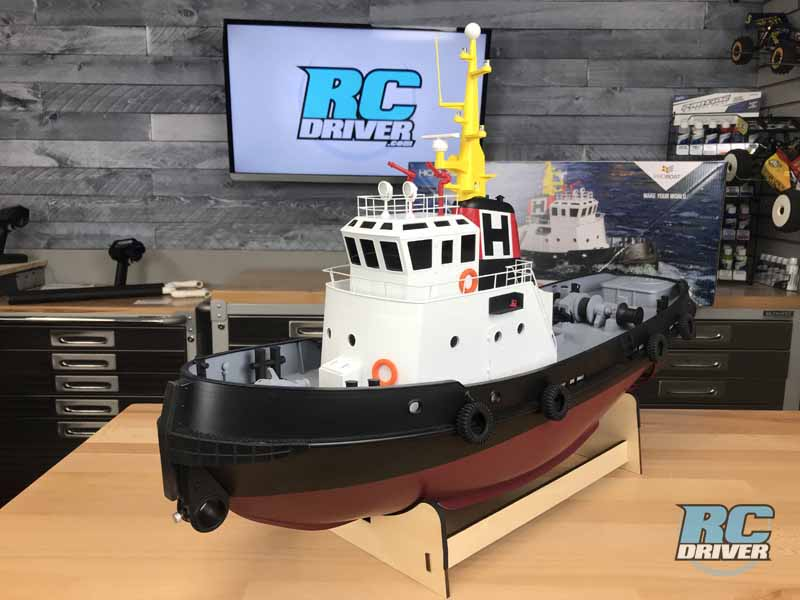 ProBoat Horizon Harbor Tug RC Retrieval Boat Photo Gallery