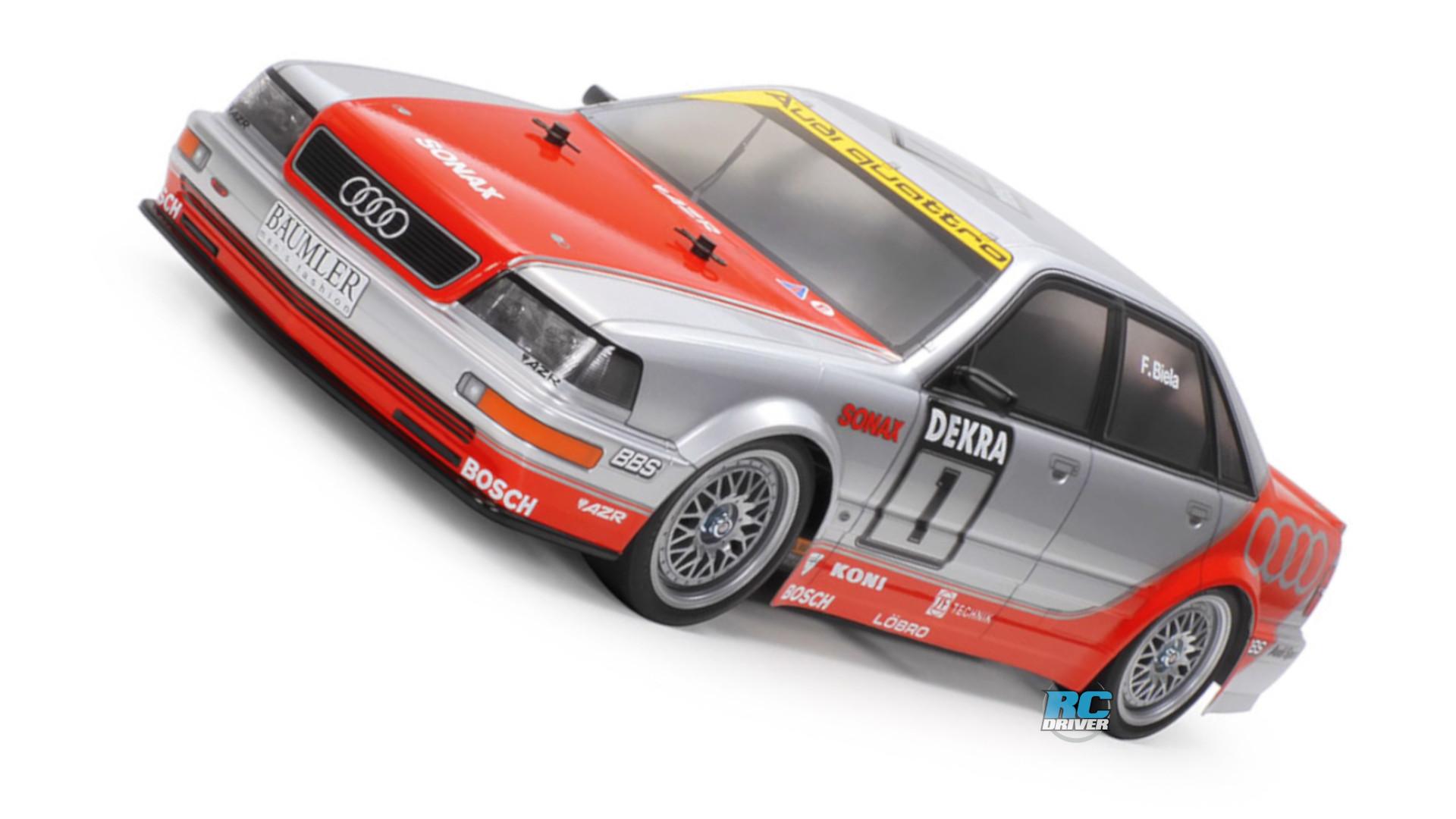 Tamiya 1992 Audi V8 Touring With TT-02 Chassis