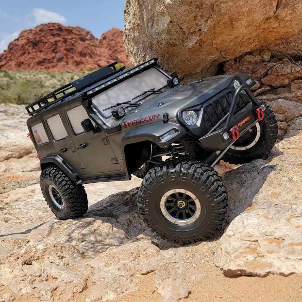 Rebel RC RJ Rebelcon Super Scale RTR Crawler
